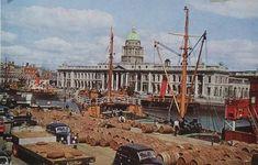 Guinness Ireland, Customs House, Dublin Street, 1940s, Paris Skyline, Past, Explore, Travel, Photos