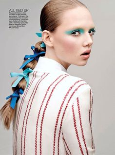show pony: holly rose, tong zhang and lera tribel by jason kibbler for teen vogue august 2014