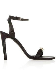 Proenza Schouler Metallic leather sandals | NET-A-PORTER