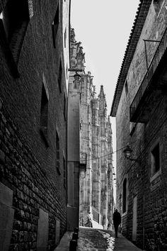 Barcelona - Caminando por el Barrio Gótico.