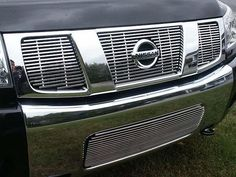 MAXMATE Made in USA Works with 2004-2015 Nissan Titan King Cab 2PC Stainless Steel Chrome Window Sill Trim Overlay