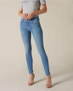 Skinny Jeans, Slim, Deco, Tops, Pants, Fashion, Illusions, Thigh, Women's