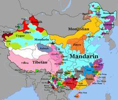 Languages Of China.
