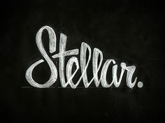 Great examples of hand-rendered type design.