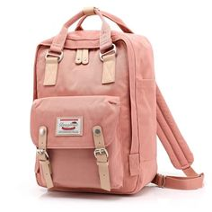 eada940bfee5 Doughnut Pink Women Girls Backpacks Kanken Students Travel Bags Casual School  Bags Mochilas Rucksuck