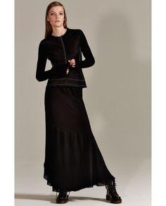 Image 1 of LONG STUDIO SKIRT from Zara: