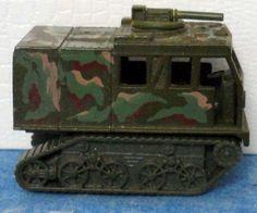 Mattel Hot Wheels Action Command ASSAULT CRAWLER 1996 Military Olive Camo (tank) #Mattel #AssaultCrawler