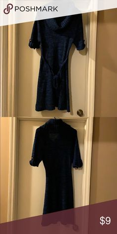 9639dea751da Sweater dress Worn once still in good condition belt in front of dress  Dresses