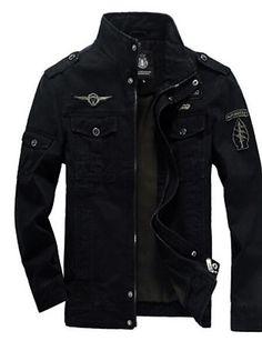 b5c20f3e880 Men s Daily Simple Casual Fall Jacket