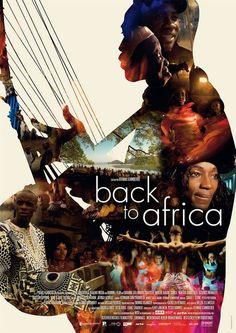 """Back To Africa"" #01 __ Design: Marcel Weisheit __ #inspiration #creativity #art #art_direction #film #film_poster #movie #movie_poster #poster #poster_design #graphic #design #graphic_design #grid #layout #typography #photography #impawards"