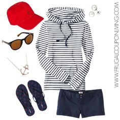 Frugal Fashion Friday Nautical Outfit