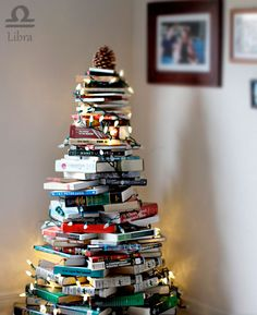 A book tree!