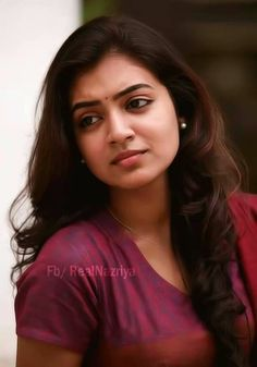 Nazriya Nazim Cute Beauty, Beauty Full Girl, Beauty Women, Beautiful Saree, Beautiful Gorgeous, Simply Beautiful, Gorgeous Women, Most Beautiful Indian Actress, Beautiful Actresses