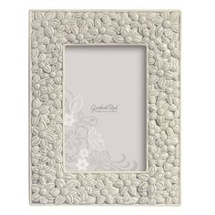 Grasslands Road Everyday Life Photo Frame, Grey Floral, 4 by 6-Inch #Wedding #Ceramic #Glass #GiftBox #picture #GrasslandsRoad #LoveIs #EverydayLife