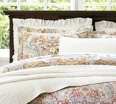 Celeste Damask Duvet Cover, King/Cal. King, Red traditional duvet covers