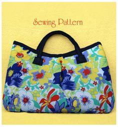 DIY Bag Sewing Pattern PDF Reversible Bag The by PrettyPrintz