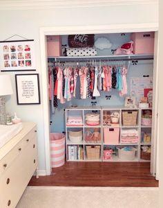 Alex Lately : Kate's Big Girl Room - Toddler Nursery Closet Organization