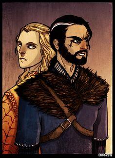 Fitz and Lord Golden by Enife.deviantart.com on @DeviantArt