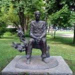 Broken Down Designs - Sea Garden, Hristo Fotev Monument, bronze (metal)