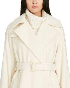 Double-Breasted Wool Coat - Wool  Coats & Jackets - RalphLauren.com