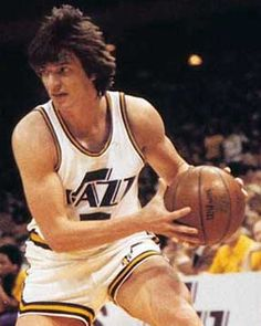 """Pistol Pete Maravich - great ball handler/dribble skills and an amazing passer. He was like Magic and """"White Chocolate"""" Jason Williams before both of them"""