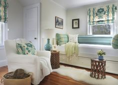 Bedroom - beach style - bedroom - providence - Kate Jackson Design-Benjamin Moore Feather Down Cottage Chic, Beach Cottage Decor, Coastal Cottage, Cottage House, Coastal Style, Coastal Living, Kate Jackson, Daybed Design, Bedroom Photos
