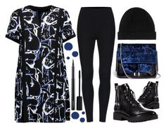 """""""Proenza Schouler Paint Splatter Dress"""" by latoyacl ❤ liked on Polyvore featuring Kendall + Kylie, Proenza Schouler, 3.1 Phillip Lim, Christian Louboutin, Smashbox and MAC Cosmetics"""