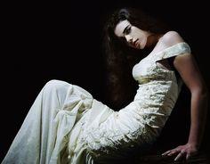 one-of-a kind mermaid-cut wedding dress found on etsy, kalioseano's shop