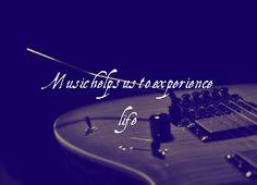 Music helps us experience life. Visit http://readmysongreadmysoul.com