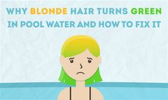 Do you have green hair from a pool? This is common for people with blonde hair, but fear not because it's easy to fix and prevent.