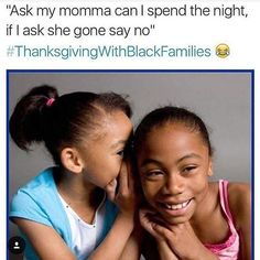 We tried it sometimes it would work #ThanksgivingWithBlackFamilies