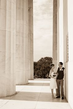 Washington DC Courthouse Wedding Schmitz Wedding Photography Bride Groom9 275x408 Melissa + Davids Courthouse Wedding in Washington, DC