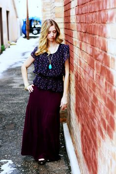 maxi skirt tutorial - this is the one I used for my first skirt and it came out great!