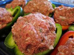 These stuffed peppers look delicious. I'm going to try making this recipe in the crockpot.