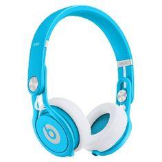 Beats by Dr. Dre Mixr Headphones - Neon Blue   i want!