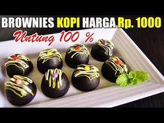 Brownies Kopi Ekonomis Tanpa Mikser Jual 1000-an - YouTube Brownies Kukus, Coffee Brownies, Snack Box, Oreo Dessert, Pudding Desserts, Indonesian Food, Cake Cookies, Bakery, Food And Drink