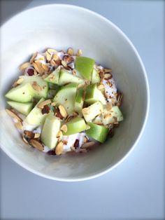 Pomegranate-Apple Salad with Greek Yogurt