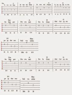 """JESUS MI REY – JESUS MY KING Escrita por/ Written by Rosa Enid Cruz RoqueRevisada/Revised – 2014Tablatura para el Cuatro PuertorriqueñoTabs for """"Cuatro Guitar from Puerto Rico"""""""