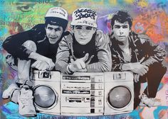 Beastie Boys - Hip Hop Art - www.loyallisteners.net
