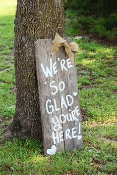 Welcome your guests with this sign by TrueConnection via Etsy.  #welcomesigns