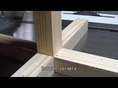 Korean joinery - YouTube