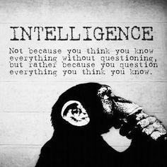 inteligência!