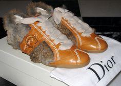 Furry Dior Shoes