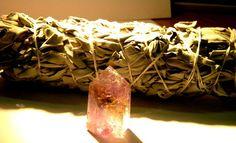 Amertrine crystal point by Krystalins on Etsy, $20.00