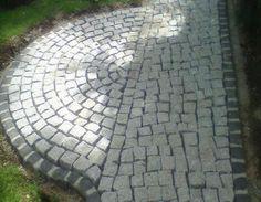 Ideal Granit Pflastersteine verlegen