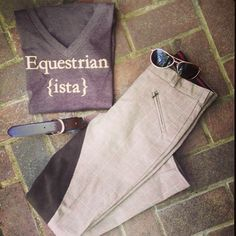 Equestrian Apparel | Horse T-Shirt | Equestrianista – Equestrianista Collection