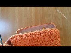 PORTAFOGLIO a Punto Stella - Tutorial crochet - YouTube