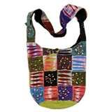 Image detail for -Hobo Hippie Ripped Razor Cut Stone Wash Peace Sign Shoulder Sling ...