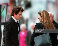 John F Kennedy Jr and his sister Caroline Kennedy Schlossberg prepare... News Photo | Getty Images
