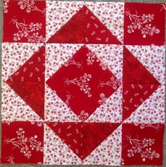 Patchwork of the Crosses Quilt Square Patterns, Easy Quilt Patterns, Pattern Blocks, Half Square Triangle Quilts, Square Quilt, Barn Quilt Designs, Quilting Designs, Small Quilts, Easy Quilts